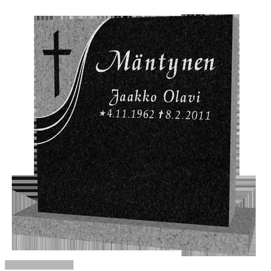 kaunokirjoitus hautakivessä